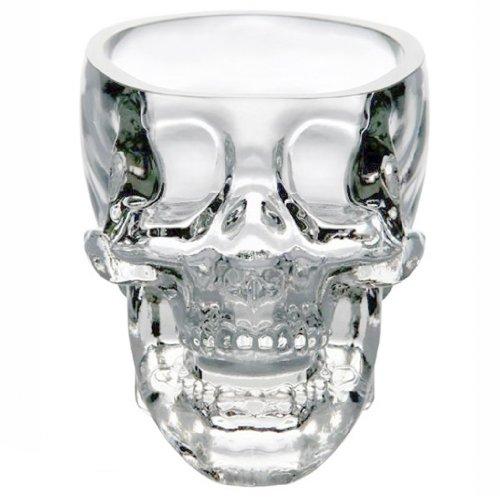 73ml Decanter Cristallo Della Testa Del Cranio Di Colpo Della Vodka Bere Tazza Vino Di Vetro Ware Per Bar Partito Domestico