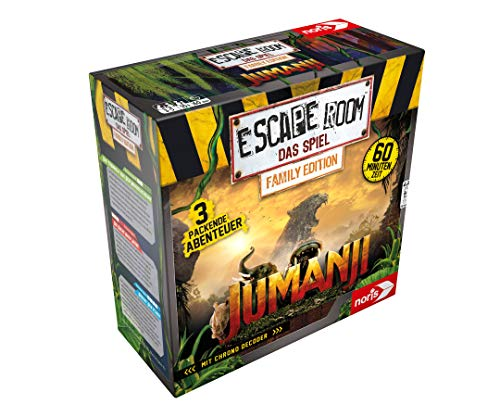 Noris - Juego por Equipos y familias Escape Room Jumanji (Family Edition)...