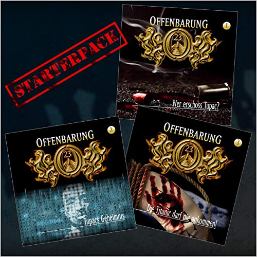 """Offenbarung 23 """"Starterpack"""" - Folgen 1-3 cover art"""
