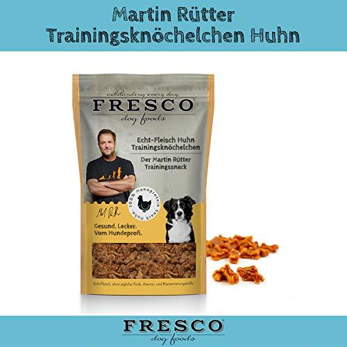 Fresco Dog Martin Rütter Trainingsknöchelchen Huhn 150g