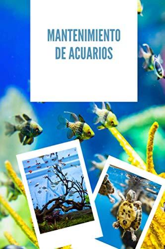 Mantenimiento de acuarios: Diario de seguimiento del acuario para los entusiastas de la vida en el acuario | Lleve un registro escrito de la evolución de su estanque
