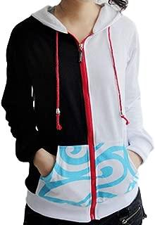 Anime Gintama Sakata Gintoki Warm Thicken Hoodie Jacket Sweatshirt Coat Cosplay Costume