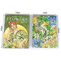【AmethystAmour】 オラクル フラワー オラクル FLOWER ORACLE 38枚 占い 海外版 英語版解説書付き