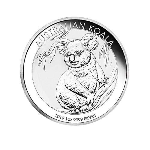 2019 Australische Koala-Silbermünze 1 Unze Limitierte Auflage Silber Münze