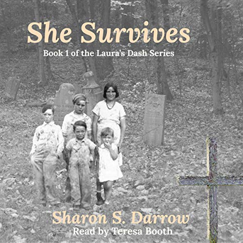 She Survives audiobook cover art