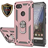 YmhxcY Google pixel 3a XL Case with Tempered Glass Screen