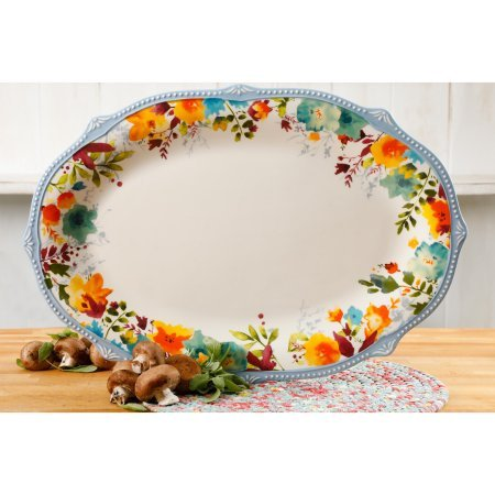 Willow Oversized Oval Platter ?21-Inch