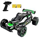 SZJJX RC Cars Coche de Control Remoto de Alta Velocidad 1/20 2,4 GHz Fast Racing Drifting Buggy Hobby 2WD Vehículo de Coche eléctrico para niños y niñas