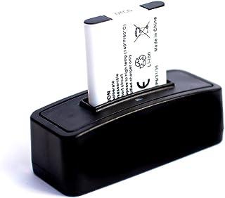 roxs bateria + estacion de bateria para carga para Nikon Coolpix S560