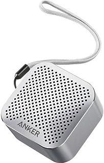 مكبر صوت ساوند كور نانو  بتقنية البلوتوث من انكر  للاجهزة التي تدعم تقنية البلوتوث، فضي،  A3104HA3