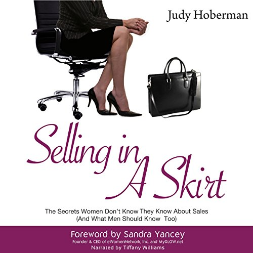 Selling in a Skirt audiobook cover art