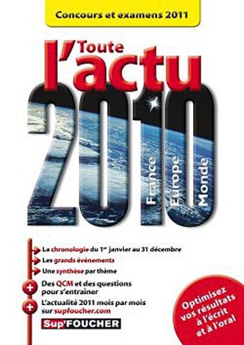Toute Lactu 2010 Concours Et Examens 2011