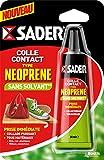 Sader 30607464 Colle Contact sans solvant Universelle, Ambré
