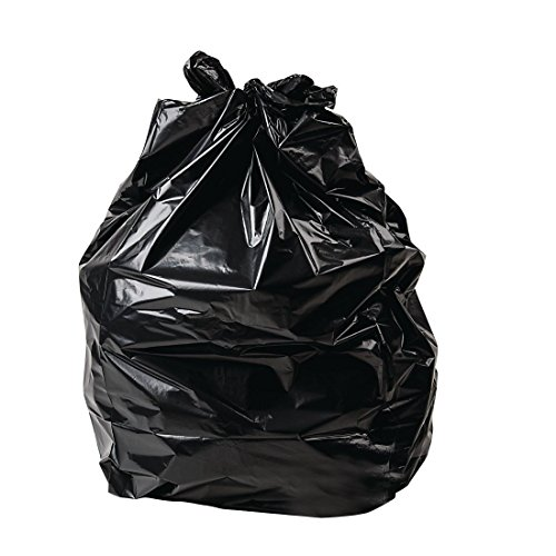Paquete de: 200 Sacos de basura negros Jantex 15kg