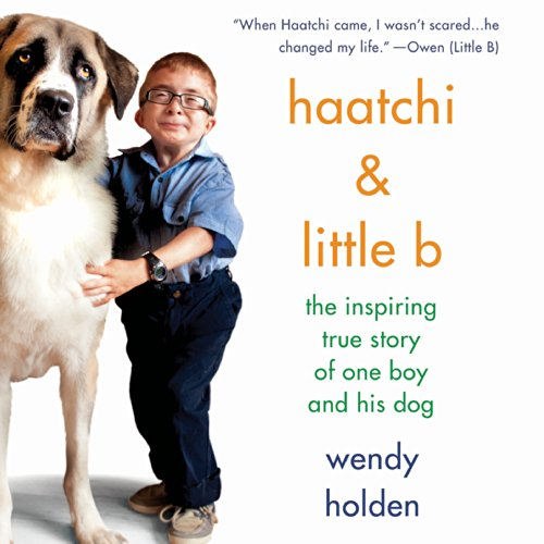 Haatchi & Little B audiobook cover art