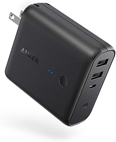 discount Anker PowerCore outlet sale Fusion 5000, Portable Charger 5000mAh 2-in-1 with Dual USB Wall Charger, Foldable AC Plug and discount PowerIQ, Battery Pack for iPhone, iPad, Android, Samsung Galaxy, and More outlet sale
