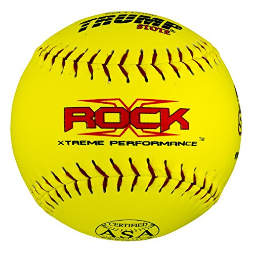 "1 Dozen Trump X-Rock ASA 12"" Softballs - 44cor/.375 Compression (X-Rock-ASA-Y-2)"