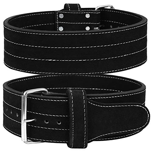 Hawk Single Prong Power Lifting Belt Inzer Weightlifting Belt Competition Power Belt, 10mm Thick Powerlifting Belt, 1 Year Warranty!!! Large