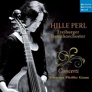 Telemann/Pfeiffer/Graun: Concerti
