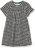 United Colors of Benetton Dress Vestido, Negro (Black 79l), 104 (Talla del Fabricante: XX) para Niñas