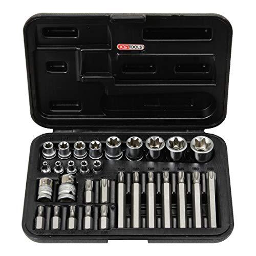 KS Tools 911.4301-1 TX-Steckschlüssel- und Bit-Satz, 30-tlg.
