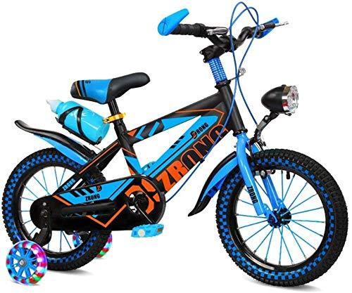 Bicicleta para niños 2-13 años 12/14/16/18' niño niña bicicleta azul rojo-azul_16'