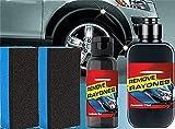 YCZCO Pasta para reacondicionamiento de Cuero y plástico para automóviles, reacondicionamiento, Crema restauradora para Autos Restaurador rápido 30 + 120ml