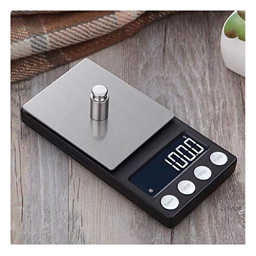 BXU-BG Balanza electrónica de precisión portátil Mini Escala electrónica de Bolsillo 0,01 g Llamado Medidor del Negocio Alimentación Escala de Oro 0,1 g