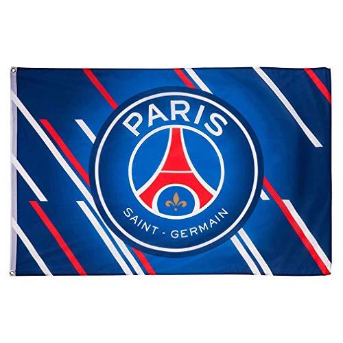 PSG – Flagge Logo Paris Saint-Germain – Blau