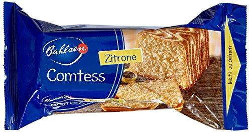 Bahlsen Comtess Zitrone, 350 g - leckerer Zitronen-Rührkuchen - einzeln verpackter Kuchen für unterwegs oder zum Kaffee - saftiger Kuchensnack