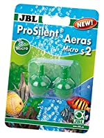 Air pump accessory for aquariums: air stones made of quartz sand mixture with extra-fine pores - for extra fine air bubbles Simply connect air stone to the air pump (not included), place inside the aquarium No extra weighting: own weight of the air s...