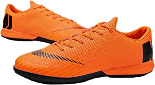 iFANS Men Athletic Outdoor Comfortable Soccer Shoes Boys Football Student Cleats Sneaker Shoes