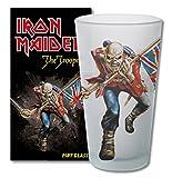 for-collectors-only Iron Maiden The Trooper Bière en Verre Verre Long Drink Verre XL Gobelet Verre à Bière