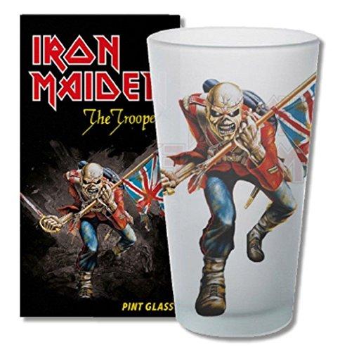 For Collectors de Only Cristal de Iron Maiden The Trooper cerveza cristal Long Drink...