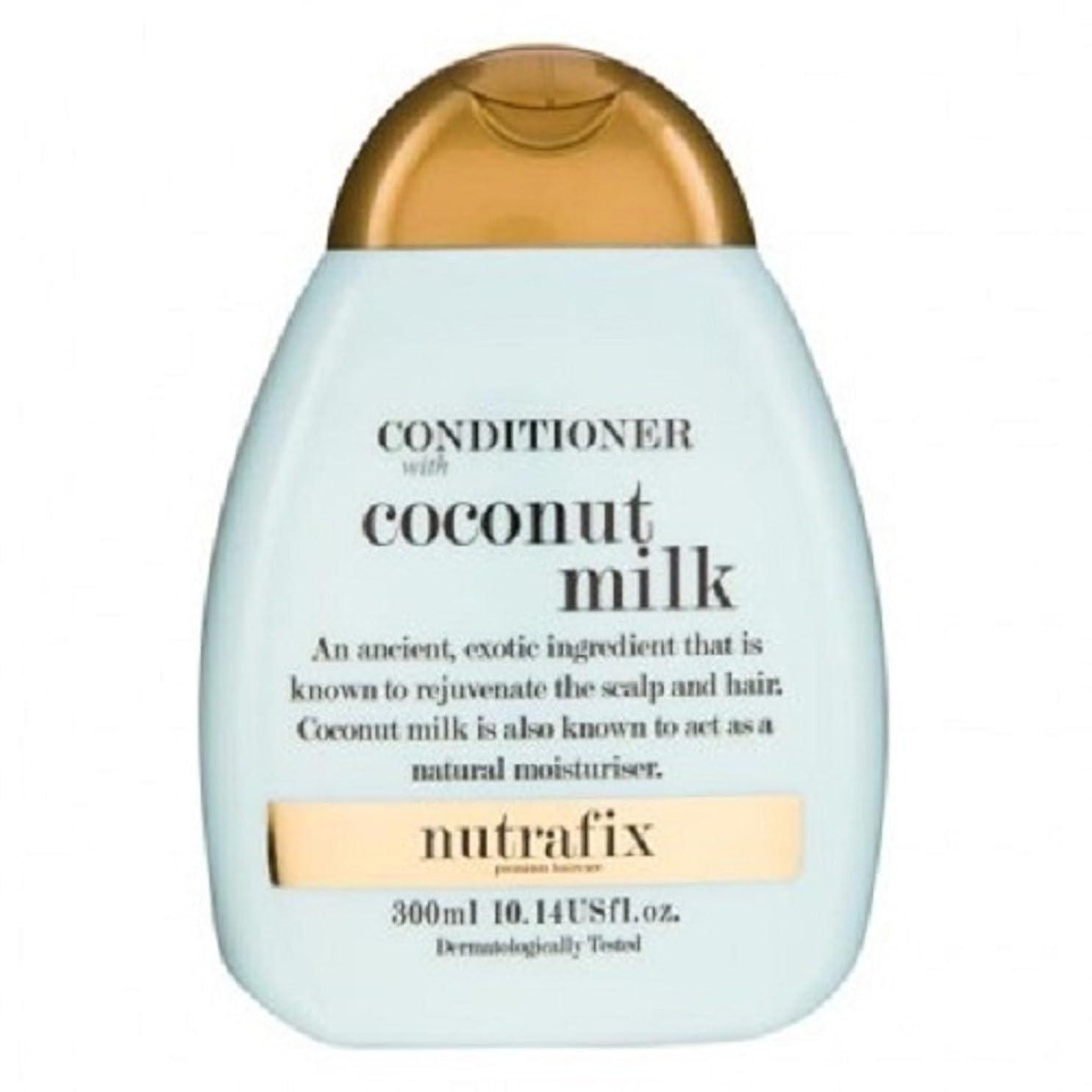 アクティブデコレーション祖母NUTRAFIXココナッツミルクコンディショナー300ml