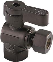 Kingston Brass KF5330ORB 5/8-Inch X 3/8-Inch OD Comp Angle Stop Valve, Oil Rubbed Bronze