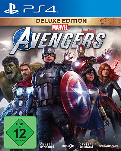 Square Enix Marvel's Avengers Deluxe Edition (inkl. kostenloses Upgrade auf PS5) (PS4)