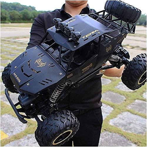 Todo terreno de metal control remoto coche 1/12 tracción de cuatro ruedas inalámbrico control remoto todoterreno vehículo dual motor camión playa carreras
