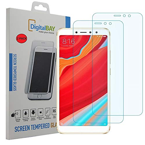 2 Pack Pellicola Vetro Temperato Xiaomi Redmi S2 Digital Bay Protezione Antigraffi Resistente Pellicola Protettiva Protezione Protettore Glass Screen Protector Per Xiaomi Redmi S2