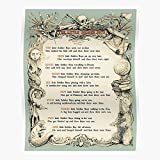 Ten Movie Then were Poem Retro Throwback Soldier None There Boys Little and Vintage Prop Retro The Best and Style Home Decor Wall Art Print Poster !