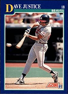 1991 score dave justice
