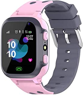 ZLLAN Chiamata telefonata Kids Smart Watch per Bambini SOS SOS Antil-Lost Impermeabile Smartwatch Baby 2G SIM Card Posizio...