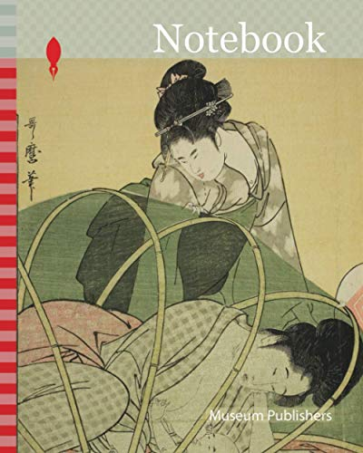Notebook: Mosquito Net for a Baby, c. 1794/95, Kitagawa Utamaro 喜多川 歌麿, Japanese, 1753 (?)-1806, Japan, Color woodblock print