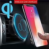 Coloré(TM) Chargeur sans Fil Pour iPhone XS Max/XS/XR/8 Plus/8,Samsung Galaxy S3 /...