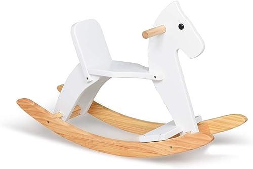 vendiendo bien en todo el mundo HEMFV Caballo mecedora, sentarse y girar Caballo mecedora de de de madera, juguetes infantiles de madera para Niños de 1 a 3 años de edad, juguetes mecánicos para Niños, animales de paseo para Niños pequeño  Nuevos productos de artículos novedosos.