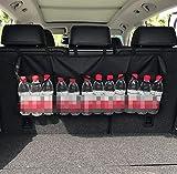 JAP768 1pc Auto-Kofferraum Organizer Einstellbare Backseat Speicher-Beutel-Net High Capacity...