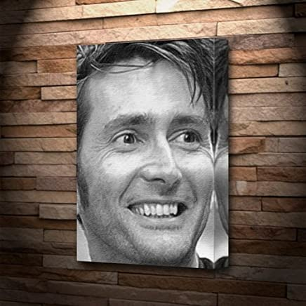 DAVID TENNANT - Canvas Print (A5 - Signed by the Artist) #js005