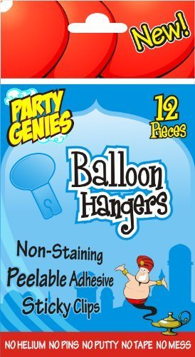Balloon Hangers (Pk 12) by Up-Up and Away (English Manual)
