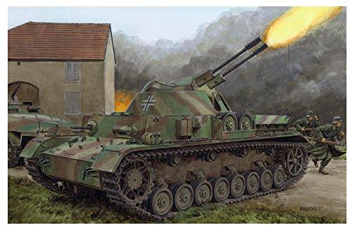ドラゴン 1/35 第二次世界大戦 ドイツ軍 4号対空戦車/3cm 二連装対空砲搭載 クーゲルブリッツ スマートキット プラモデル DR6889