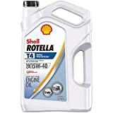 Shell Rotella T4 Triple Protection Conventional 15W-40 Diesel Engine Oil (1-Gallon, Single Pack)